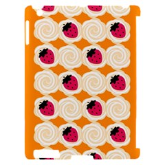 Cake Top Orange Apple iPad 2 Hardshell Case (Compatible with Smart Cover)