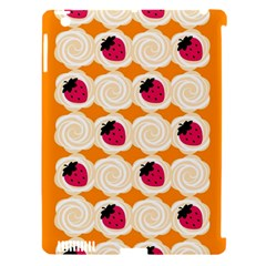 Cake Top Orange Apple iPad 3/4 Hardshell Case (Compatible with Smart Cover)