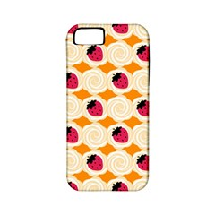 Cake Top Orange Apple iPhone 5 Classic Hardshell Case (PC+Silicone)