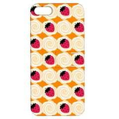 Cake Top Orange Apple iPhone 5 Hardshell Case with Stand