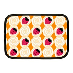 Cake Top Orange Netbook Case (Medium)