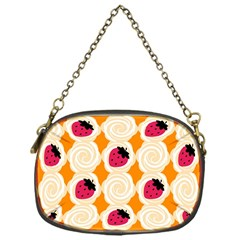 Cake Top Orange Chain Purse (One Side)