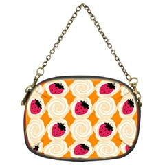 Cake Top Orange Chain Purse (Two Sides)