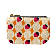 Cake Top Orange Mini Coin Purse
