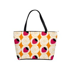 Cake Top Orange Classic Shoulder Handbag