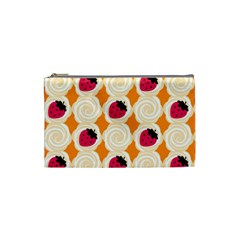 Cake Top Orange Cosmetic Bag (Small)
