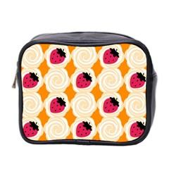 Cake Top Orange Mini Toiletries Bag (Two Sides)