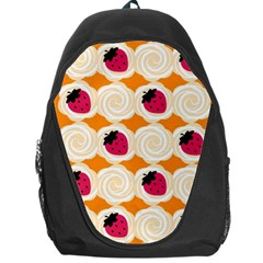 Cake Top Orange Backpack Bag
