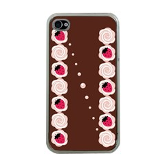 Cake Top Choco Apple Iphone 4 Case (clear)