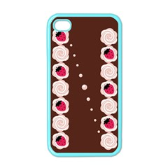 Cake Top Choco Apple iPhone 4 Case (Color)