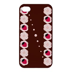 Cake Top Choco Apple Iphone 4/4s Hardshell Case