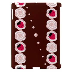Cake Top Choco Apple Ipad 3/4 Hardshell Case (compatible With Smart Cover)