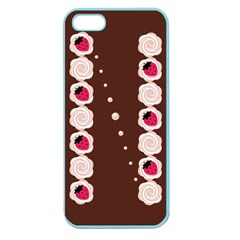 Cake Top Choco Apple Seamless Iphone 5 Case (color)