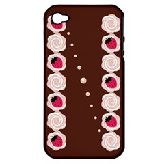 Cake Top Choco Apple iPhone 4/4S Hardshell Case (PC+Silicone)