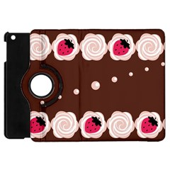 Cake Top Choco Apple iPad Mini Flip 360 Case