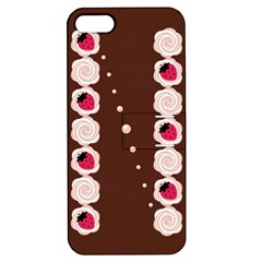 Cake Top Choco Apple Iphone 5 Hardshell Case With Stand
