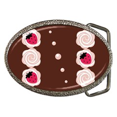 Cake Top Choco Belt Buckle