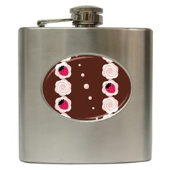 Cake Top Choco Hip Flask (6 oz)