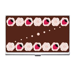 Cake Top Choco Business Card Holder