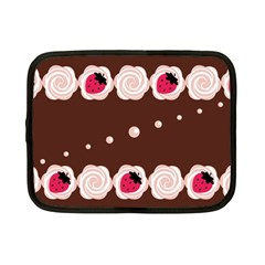 Cake Top Choco Netbook Case (Small)