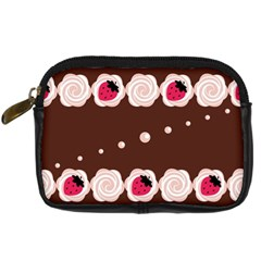 Cake Top Choco Digital Camera Leather Case