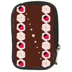 Cake Top Choco Compact Camera Leather Case