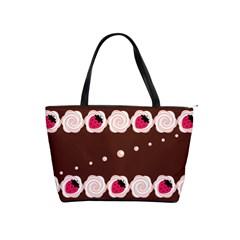 Cake Top Choco Classic Shoulder Handbag