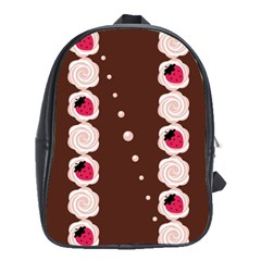 Cake Top Choco School Bag (large)