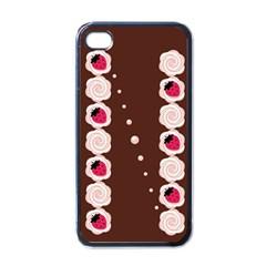 Cake Top Choco Apple Iphone 4 Case (black)