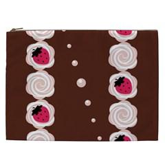 Cake Top Choco Cosmetic Bag (XXL)