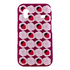 Cake Top Grape Samsung Galaxy Ace S5830 Hardshell Case