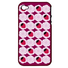 Cake Top Grape Apple iPhone 4/4S Hardshell Case (PC+Silicone)