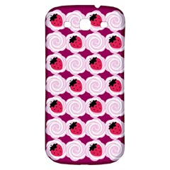 Cake Top Grape Samsung Galaxy S3 S III Classic Hardshell Back Case