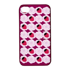 Cake Top Grape Apple iPhone 4/4S Hardshell Case with Stand