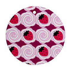 Cake Top Grape Ornament (Round)