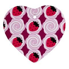 Cake Top Grape Ornament (Heart)