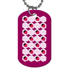 Cake Top Grape Dog Tag (one Side)