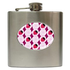 Cake Top Grape Hip Flask (6 Oz)