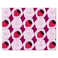 Cake Top Grape Jigsaw Puzzle (rectangular)