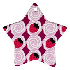 Cake Top Grape Star Ornament (two Sides)
