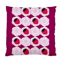Cake Top Grape Cushion Case (two Sides)