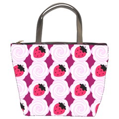 Cake Top Grape Bucket Bag