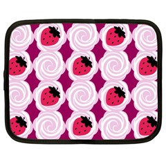 Cake Top Grape Netbook Case (XL)