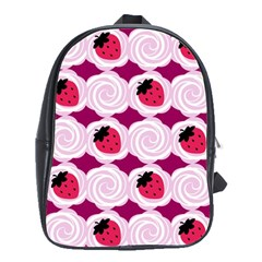Cake Top Grape School Bag (Large)