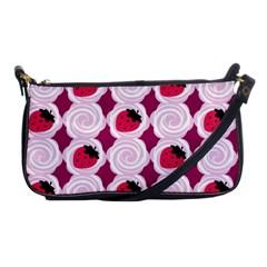 Cake Top Grape Shoulder Clutch Bag