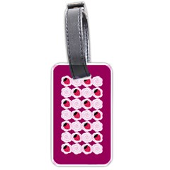 Cake Top Grape Luggage Tag (one Side)