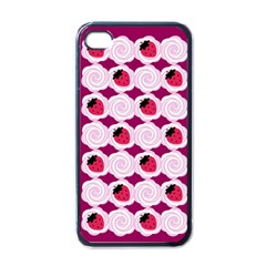 Cake Top Grape Apple iPhone 4 Case (Black)