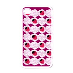Cake Top Grape Apple Iphone 4 Case (white)