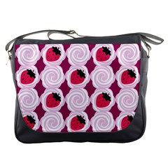 Cake Top Grape Messenger Bag