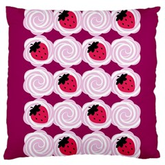 Cake Top Grape Large Cushion Case (Two Sides)